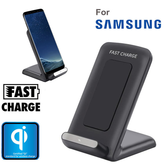 2017 Universal Qi Fast Wireless Charger Rapid Charging Stand for Samsung Galaxy S8 / S8 Plus Wireless Charger#25