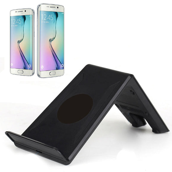 Overmal Qi Wireless Charger 10W For Samsung Galaxy S6 / S6 Edge Wireless Charger Charging Dock Hot Sale#30