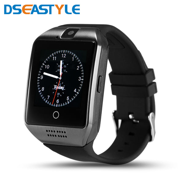 Dseastyle Q18 Smart Watch Phone Support Sim TF Card Pedometer Bluetooth Smartwatch with Camera For Android Smartphone