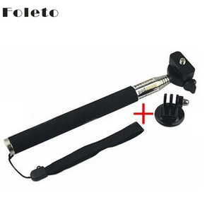Gopro Tripod selfie Handheld Monopod Go Pro Aluminium  Tripods Mount Adapter for Gopro Hero Camera HD 1 2 3 3+ 3 Accessories