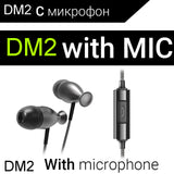 Earphone QKZ DM2 In-Ear Earphone High end Bass Headset Flashy style HIFI Earphone with inline mic for iphone Xiaomi Smartphones