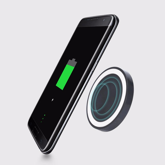 Portable Universal Qi Wireless Power Charging Pad For iPhone 8,8 plus, Samsung Galaxy S6,