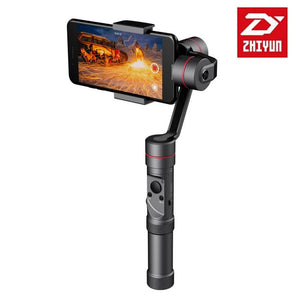 ZHIYUN Smooth 3 Handheld Gimbals Stabilizer Pan Head Mobile Phone PTZ Live For GoPro For xiaoyi Motion Action Camera Anti Shake