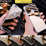 TPU edge Phone Cases For iPhone 6 6s 7 Back Cover For iPhone 6 6S 7 Plus