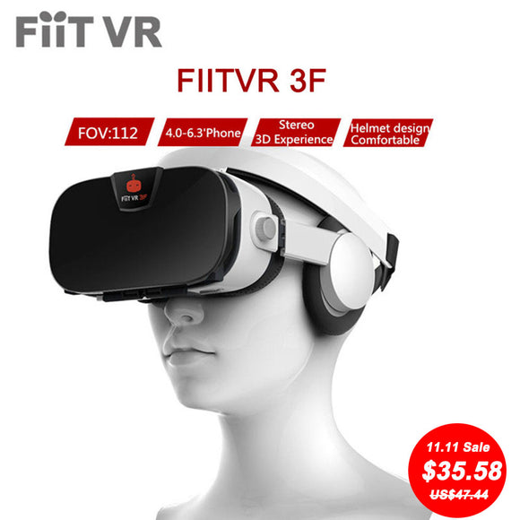 Virtual Reality 3D Glasses headset for smartphones 4