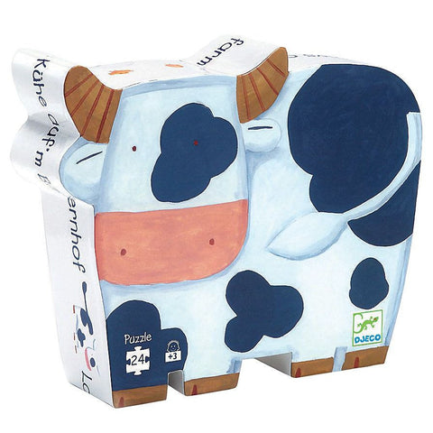Djeco The Cows on the Farm Puzzle