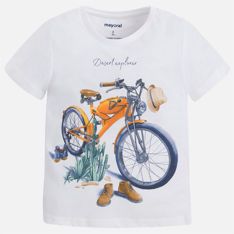 Mayoral Jersey T-shirt with print for boy