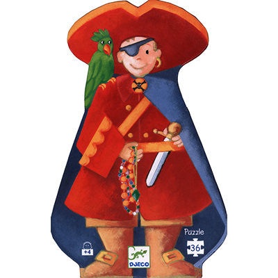 Djeco The Pirate and the Treasure Puzzle