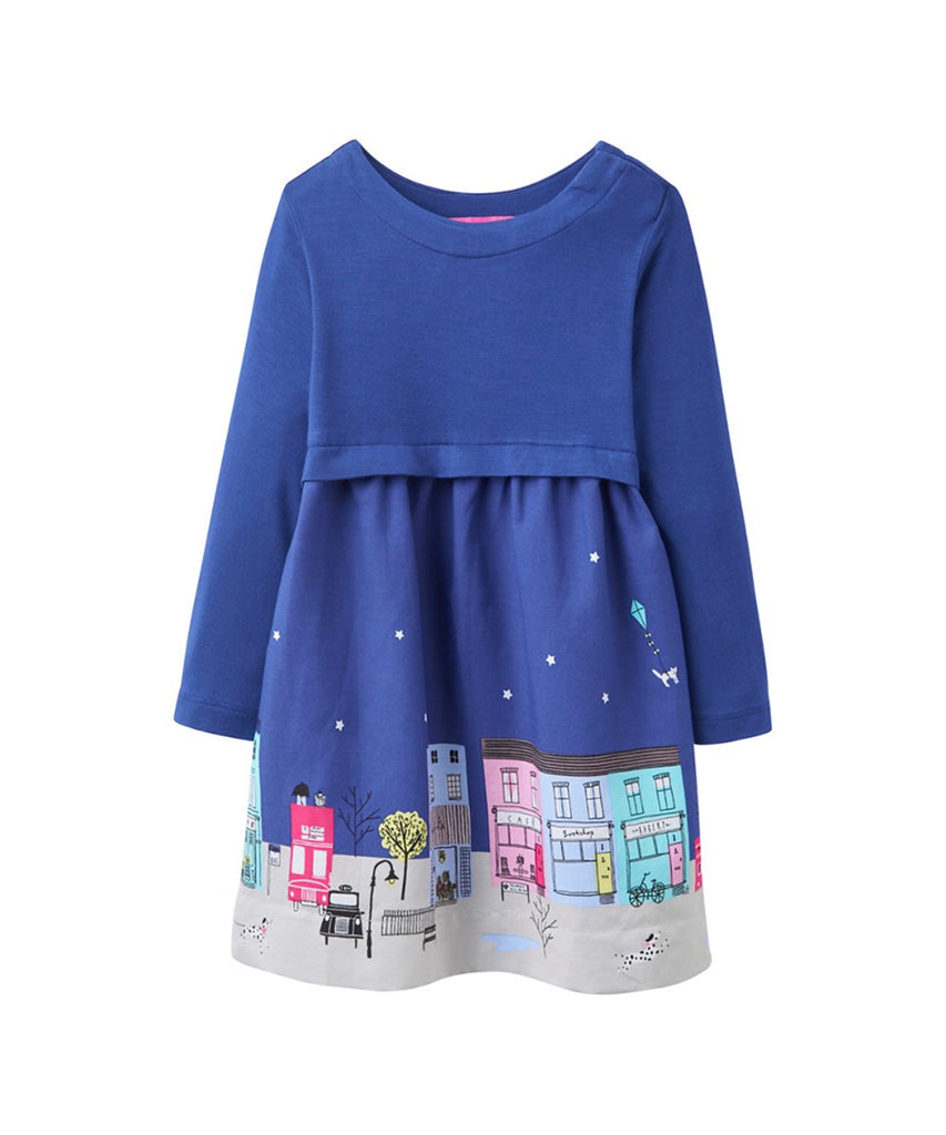 Joules Clothing Blue city dress