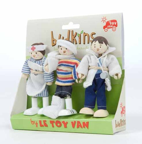 Le Toy Van Medical Team Set of 3- Characters