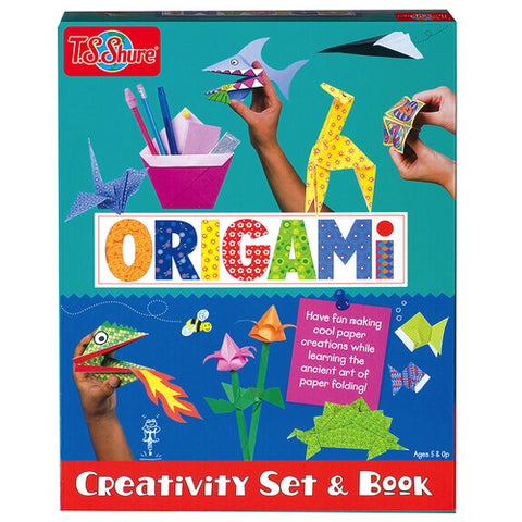 T S Shure Origami & Other Fun Fold-Ups Set & Book