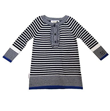 Berlingot Marine Striped Knit Dress