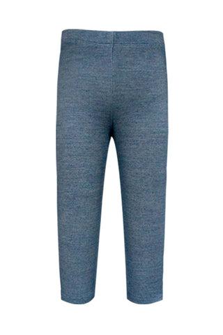 Baby Sara Basic dark blue leggings
