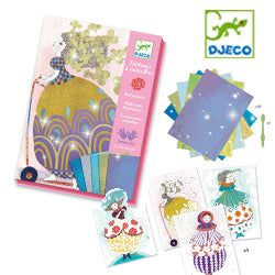 Djeco Foil Pictures so pretty!