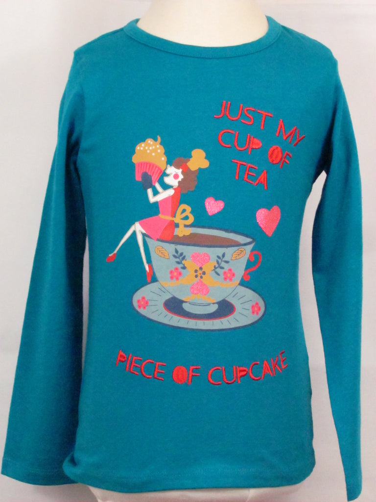 "Room Seven ""Just my cup of tea / Piece of Cupcake"" Shirt"