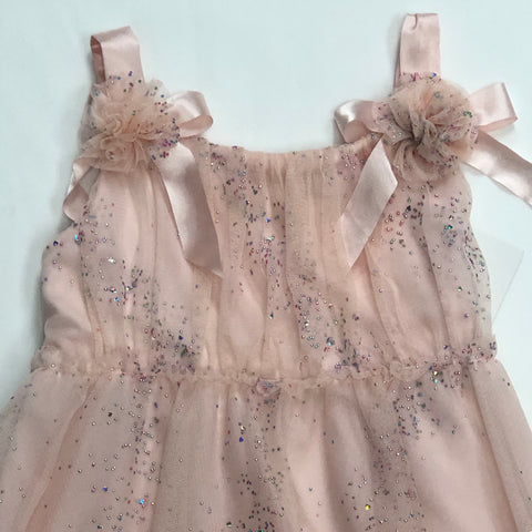 Biscotti  glitter tulle dress