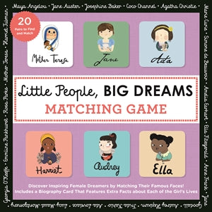 Little People, BIG DREAMS Matching Game, Lincoln Children's Books