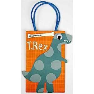 Meri Meri Party Bags Roarrrrr! Dinosaur, 8-Pack