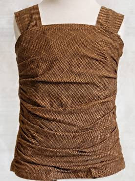 Persnickety Golden Girls Corset Top Brown