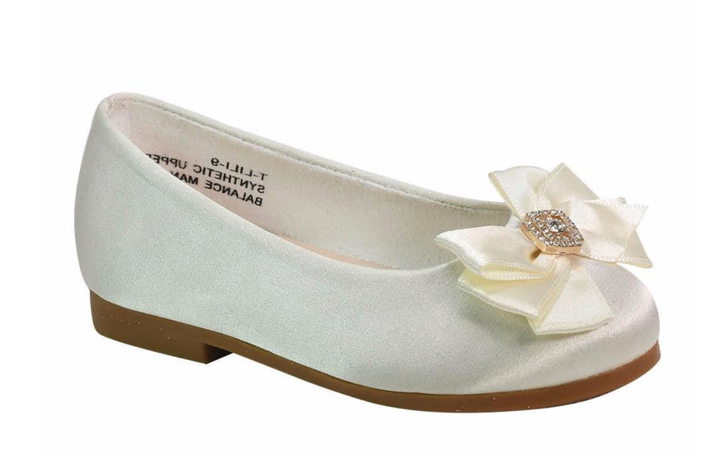 Blossom Girl Footwear Satin Shoes