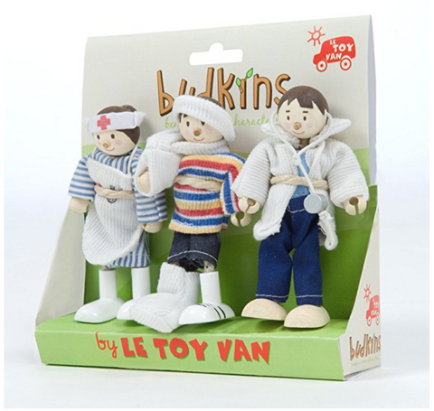 Le Toy Van Budkins set Medical set