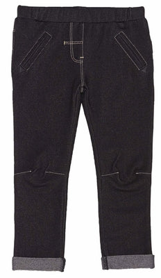 Deux Par Deux Must Have Jeggings with fold