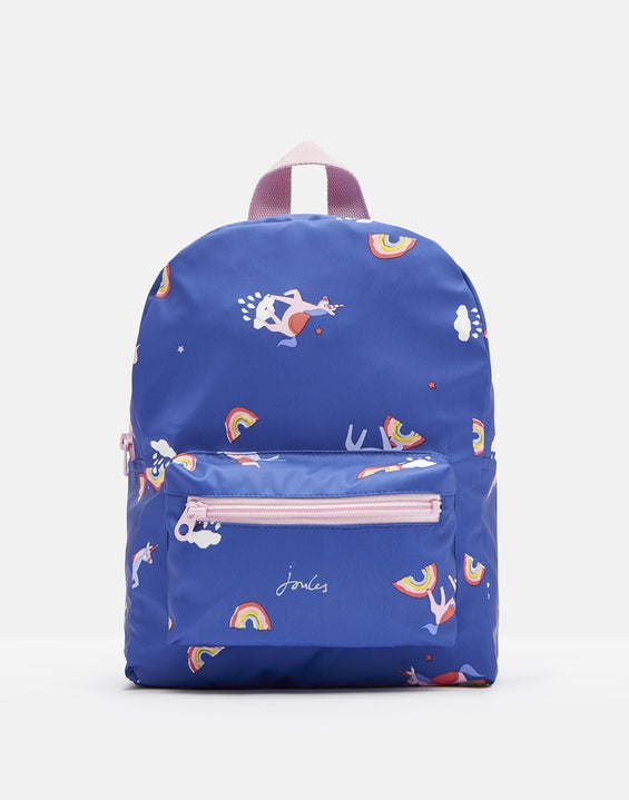 Joules Clothing Adventures small rubber backpack