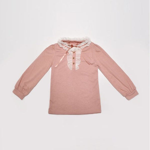 Mae li Rose Blush Buttom Top
