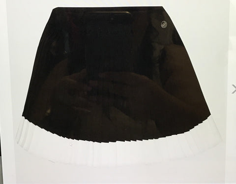 Mayoral black&white pleated skirt