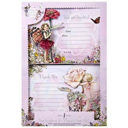 Meri Meri - Flower Fairies Friends Invitation&Thank you Set