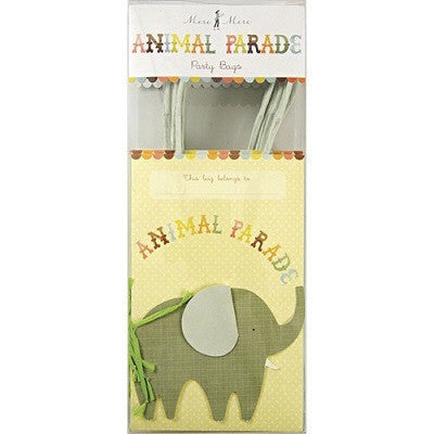 Animal Parade Party Bags (8 pack)