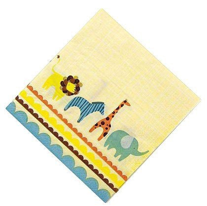 Meri Meri Animal Parade Party Napkins