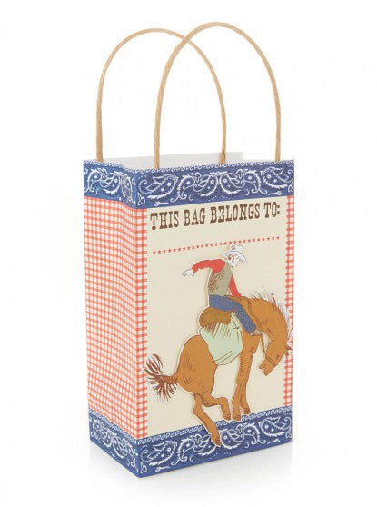 Meri Meri Howdy Cowboy Party Bags