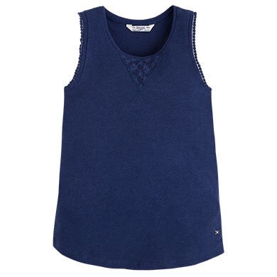 Mayoral Basic tank Top Navy