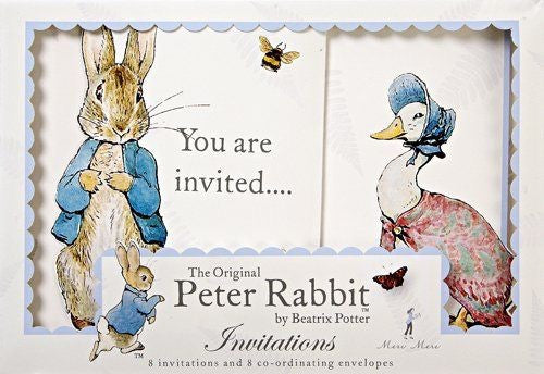 Meri Meri Peter Rabbit Invites