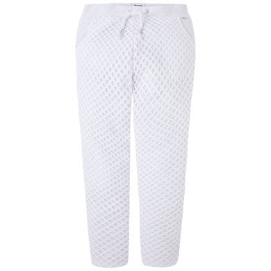 Long Pants Mesh White
