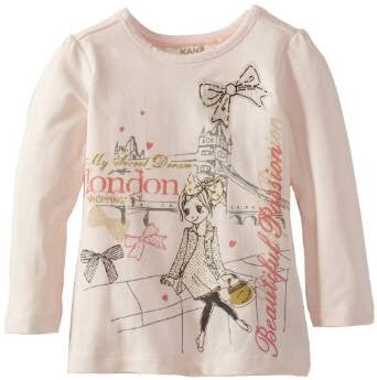 Kanz Heavenly Pink T-Shirt
