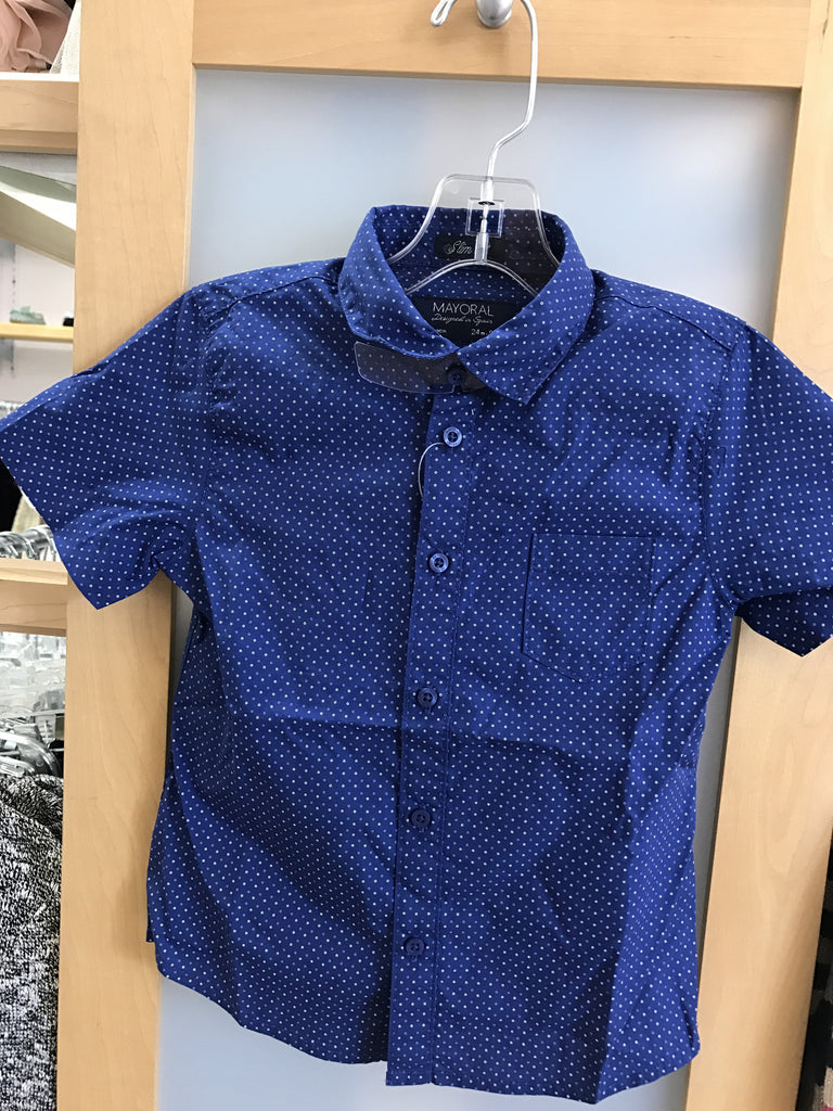 Mayoral Astral blue boys shirt