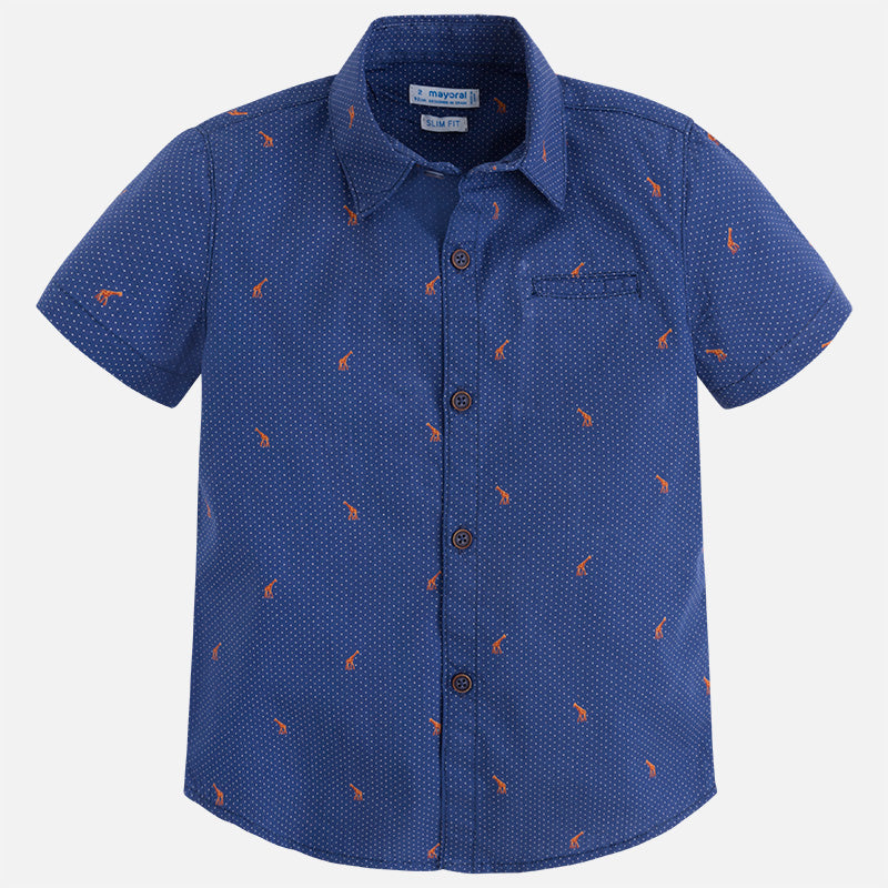 Mayoral Patterned short sleeve shirt for boy