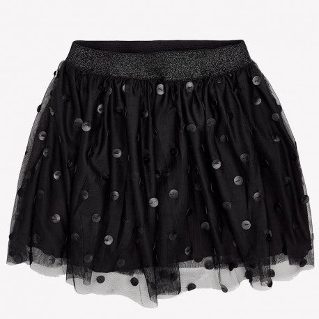 Mayoral Girl tulle with polka-dot short skirt