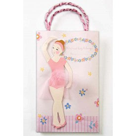 Meri Meri Twinkle Toes Ballet Girl Party Bags
