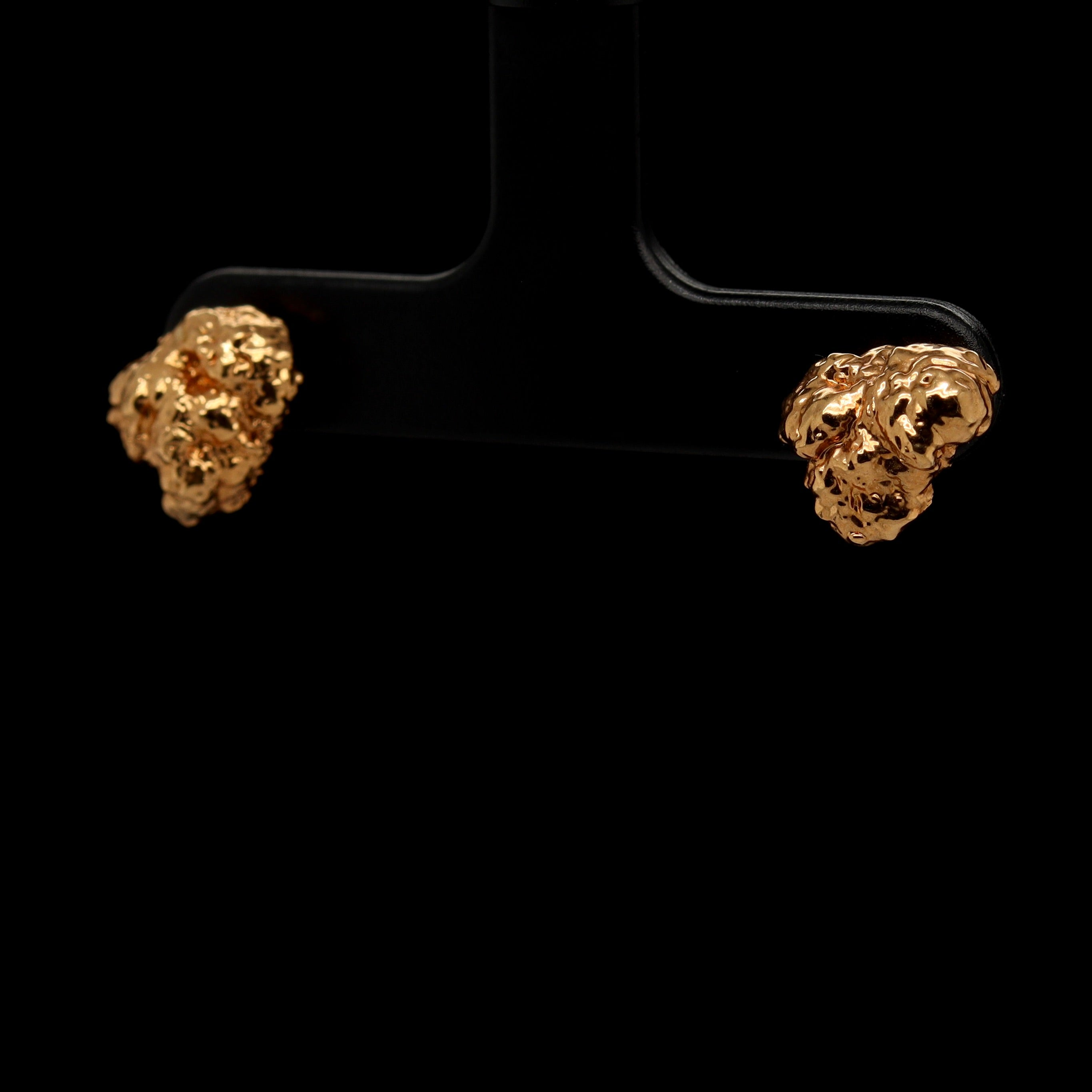 24k OG Kush Bud Stud Earrings