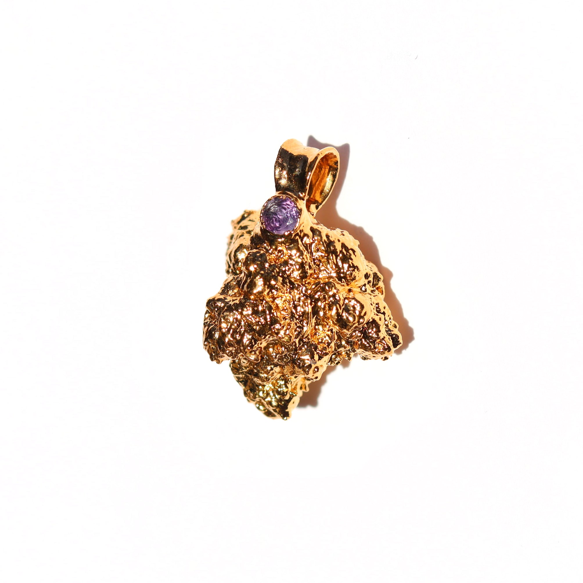 24k OG Kush Nug with Amethyst