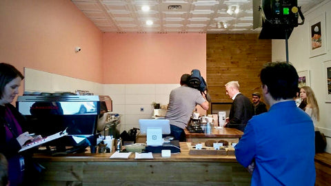 Coffee Tasting with CTV at Modus Coffee Roaster