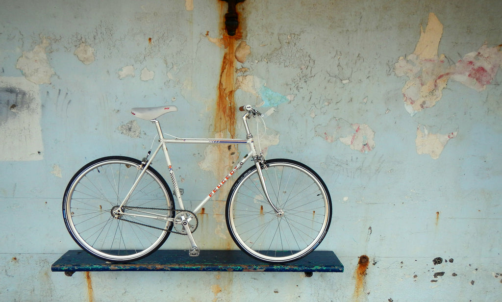 Single Speed Bike Build - Neill's Peugeot Super Competitoin