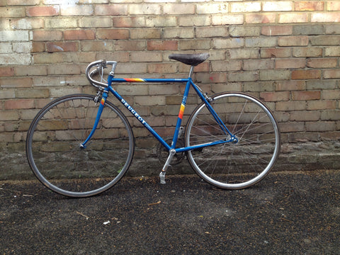 Vintage Lugged Peugeot Single Speed Bike Conversion