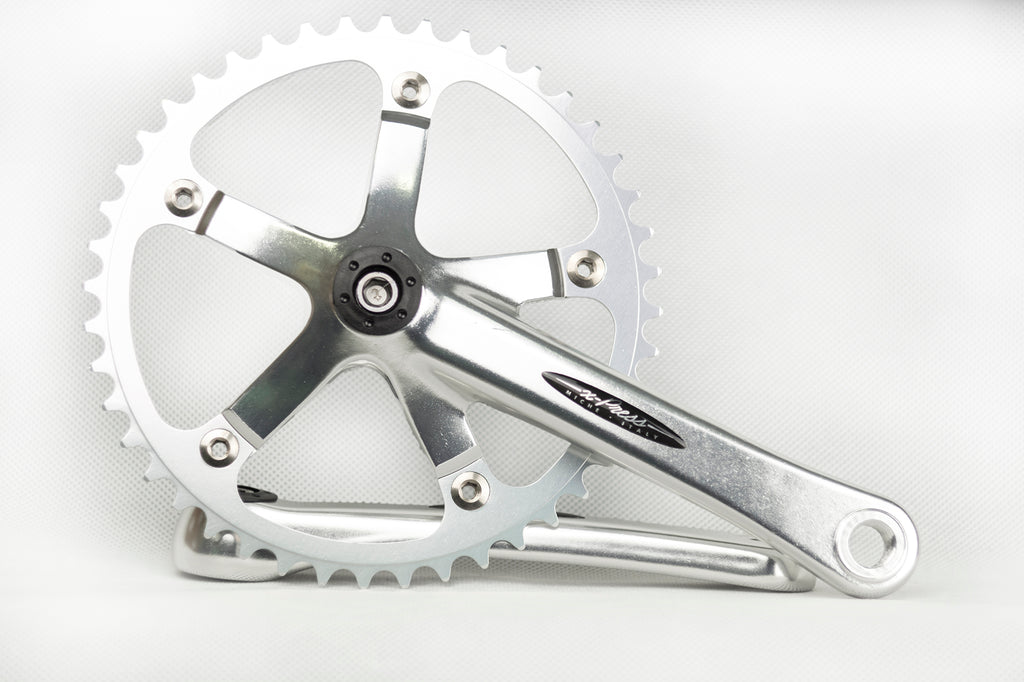 "Miche Xpress Track Chainset - 44T 3/32"" Single Speed Crankset"