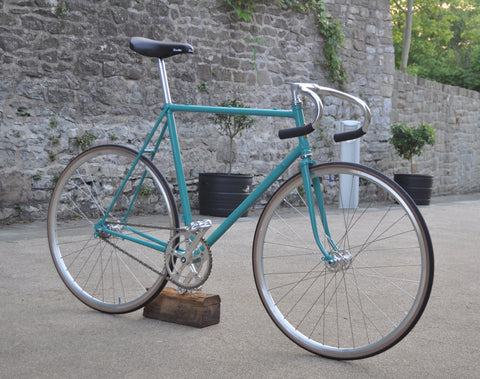 Vintage Raleigh Record Single Speed Bike Build