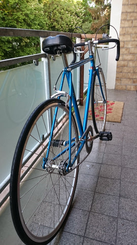 Peugeot Single Speed, Blue Frame