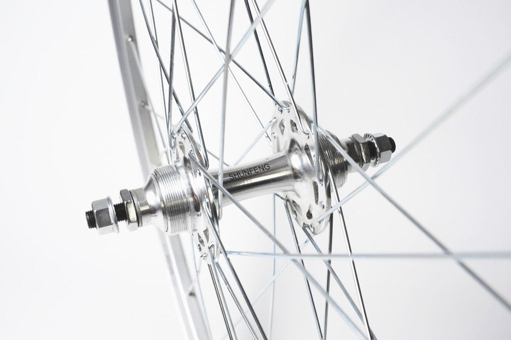 S S C Workhorse Single Speed Wheel - Silver
